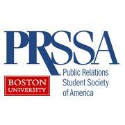 Boston University PRSSA logo