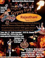 A Night of Gypsy Fire with the Rajasthani Gypsy Caravan