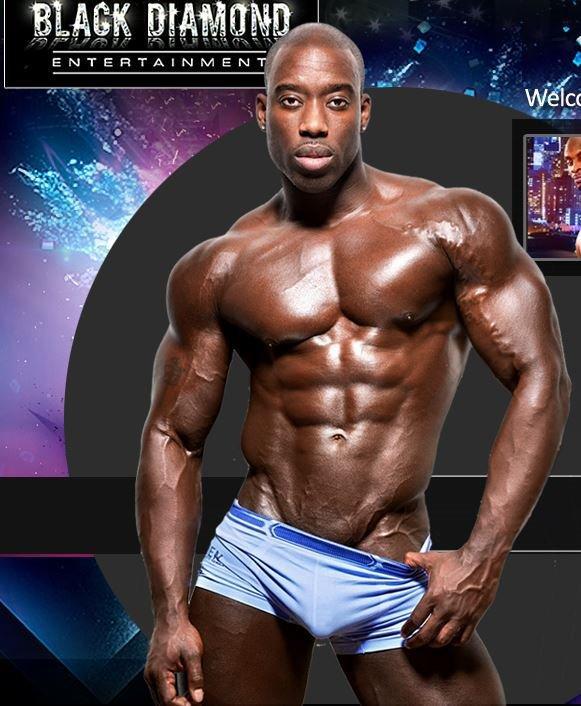 Black Diamond Male Revue Strippers Show - Houston TX