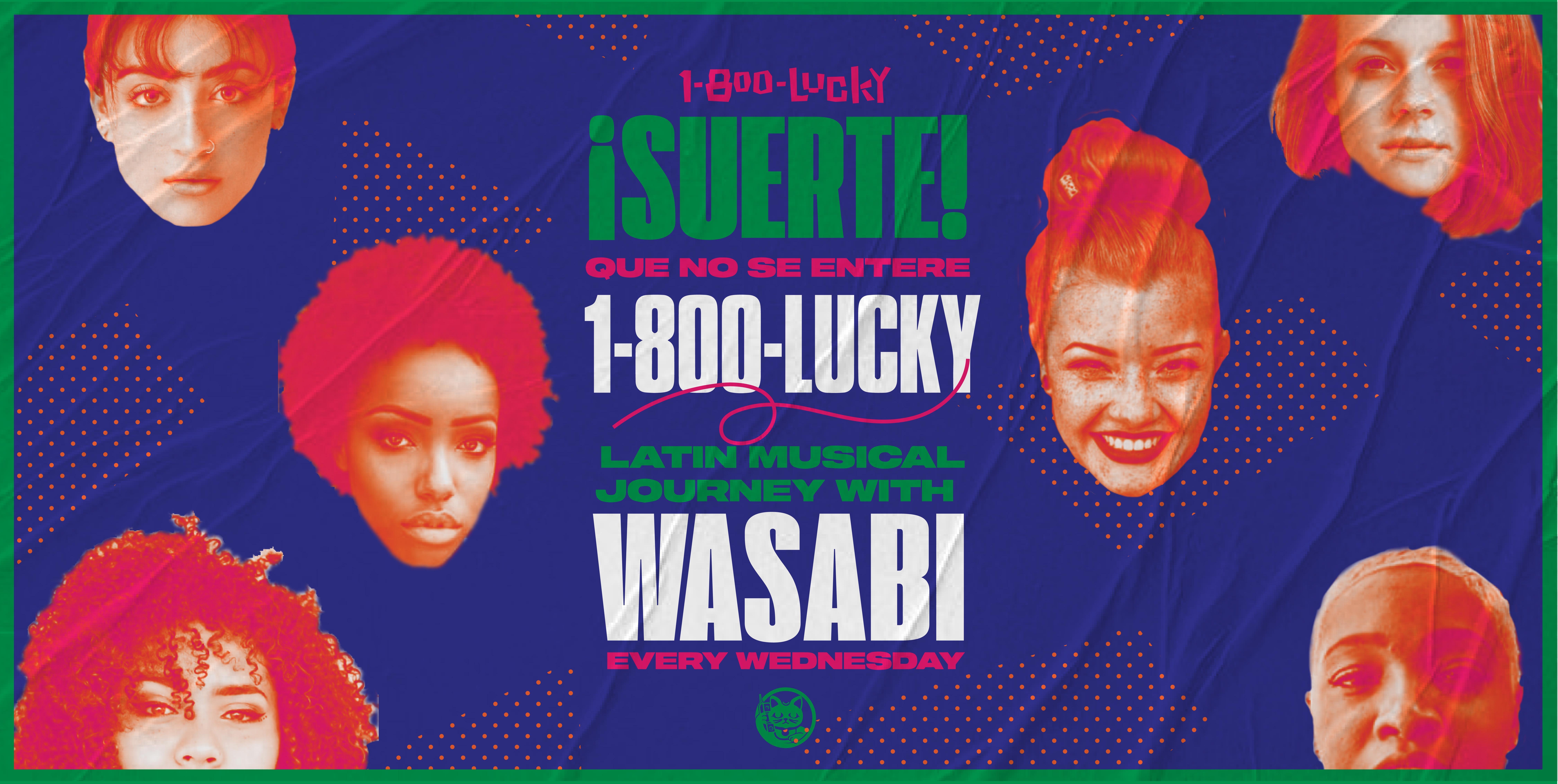 !SUERTE! Que No Se Entere LATIN MUSICAL JOURNEY with DJ WASABI