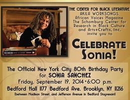 """Celebrate Sonia!"" The 80th Birthday Celebration for..."
