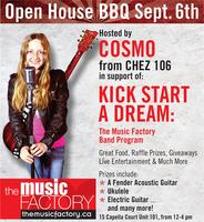 The Music Factory Open House and Free BBQ