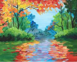 Paint a Fall Masterpiece at the Hangar Tavern