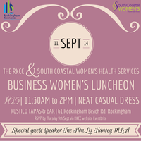 The RKCC & South Coastal Women's Health Services...