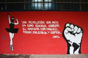 Revolution, why bother? The politics of Art!