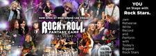 Rock and Roll Fantasy Camp logo