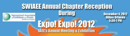 Annual Chapter Reception at EXPO EXPO