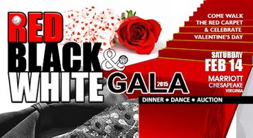 Red, Black & White Gala 2015 to support Youth Matter...