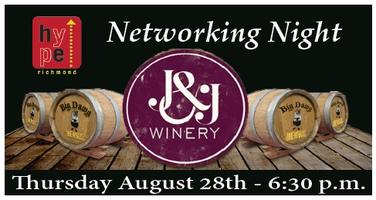 HYPE Richmond Networking Night @ J&J Winery