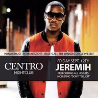 JEREMIH PERFORMING LIVE