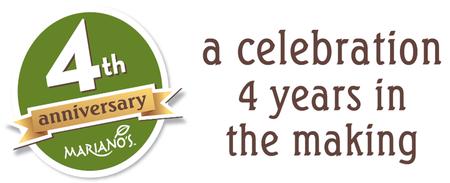 Mariano's Four Year Anniversary Celebration: Decorate...