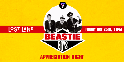 Beastie Boys Appreciation Night
