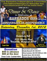 Barbados' 46th Anniversary of Independence Dinner and...