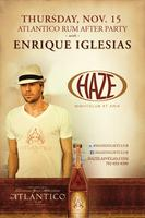 Atlantico Rum After Party Hosted by Enrique Iglesias at HAZE...