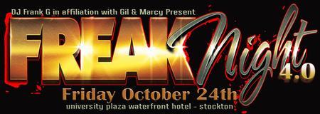 Freak Night 4 - Stockton - An Upscale Halloween Party