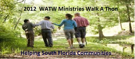 2012 WATW (5K) Walk a Thon (Helping Communities)