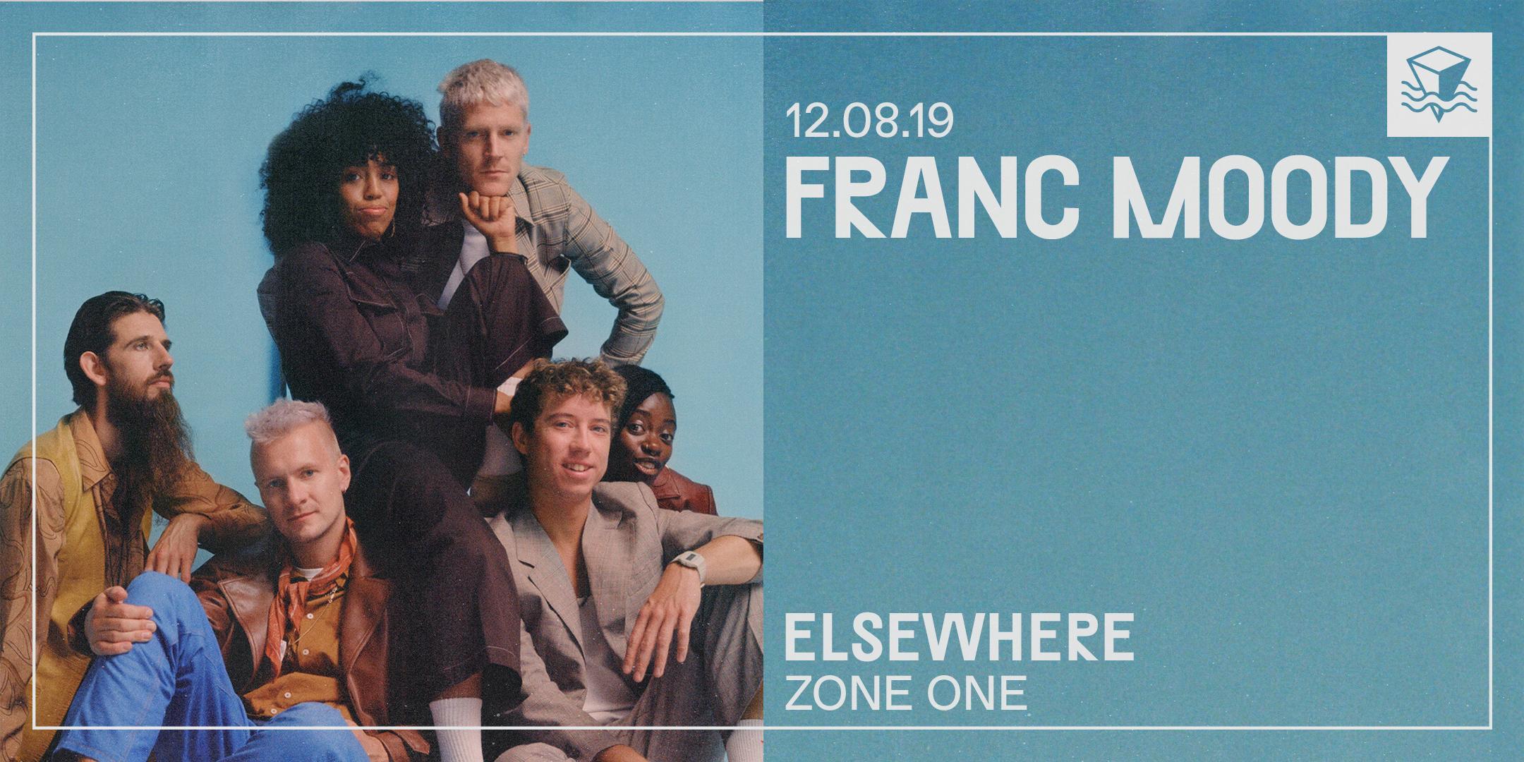 Franc Moody @ Elsewhere (Zone One)