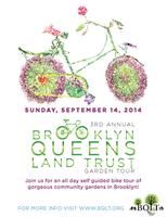 Brooklyn Queens Land Trust 3rd Annual Garden Tour