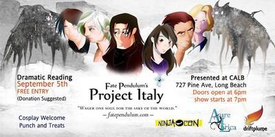 Fate Pendulum's Project Italy