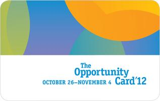 The Opportunity Card 2012 Extension
