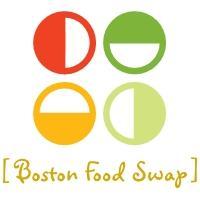 Boston Food Swap and the Swapaholics logo