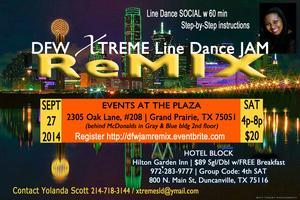 (4th Sat) DFW Line Dance JAM ReMix ~ Workshop/Social