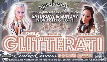 Glitterati Erotic Circus - F1 Weekend at Speakeasy