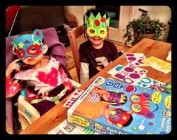 Make Fun Felt Masks, Wednesday October 22nd - Wicker...
