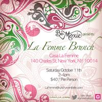 Be Moxie Presents 'La Femme Brunch'