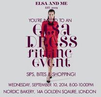 ELSA Fitting Event: London