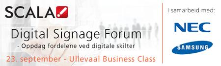 Scala Digital Signage Forum