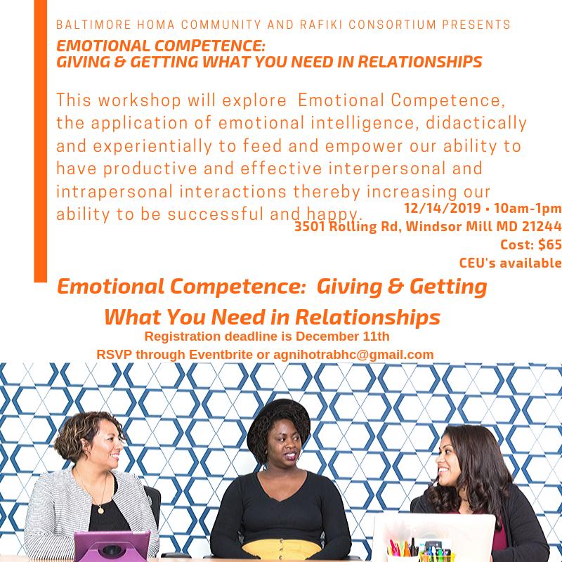Emotional Competence Workshop