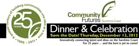 Community Futures of the Sunshine Coast 25th Anniversary...