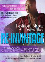 Re-inVINTAGE: Fashion Show and Pop-up