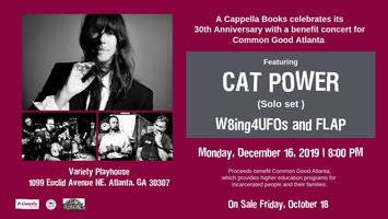 A Cappella Books 30th Anniversary Benefit Tickets, Mon, Dec