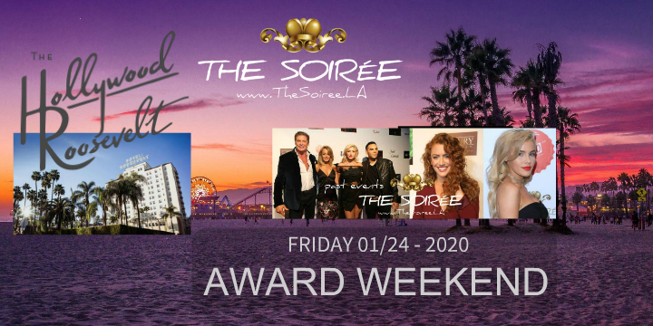 When: Grammy® Weekend Party: 6th Annual SOIRÉE (independent from Grammys)