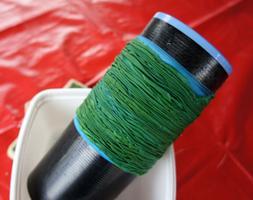 Textile Art: Shibori Arashi Method