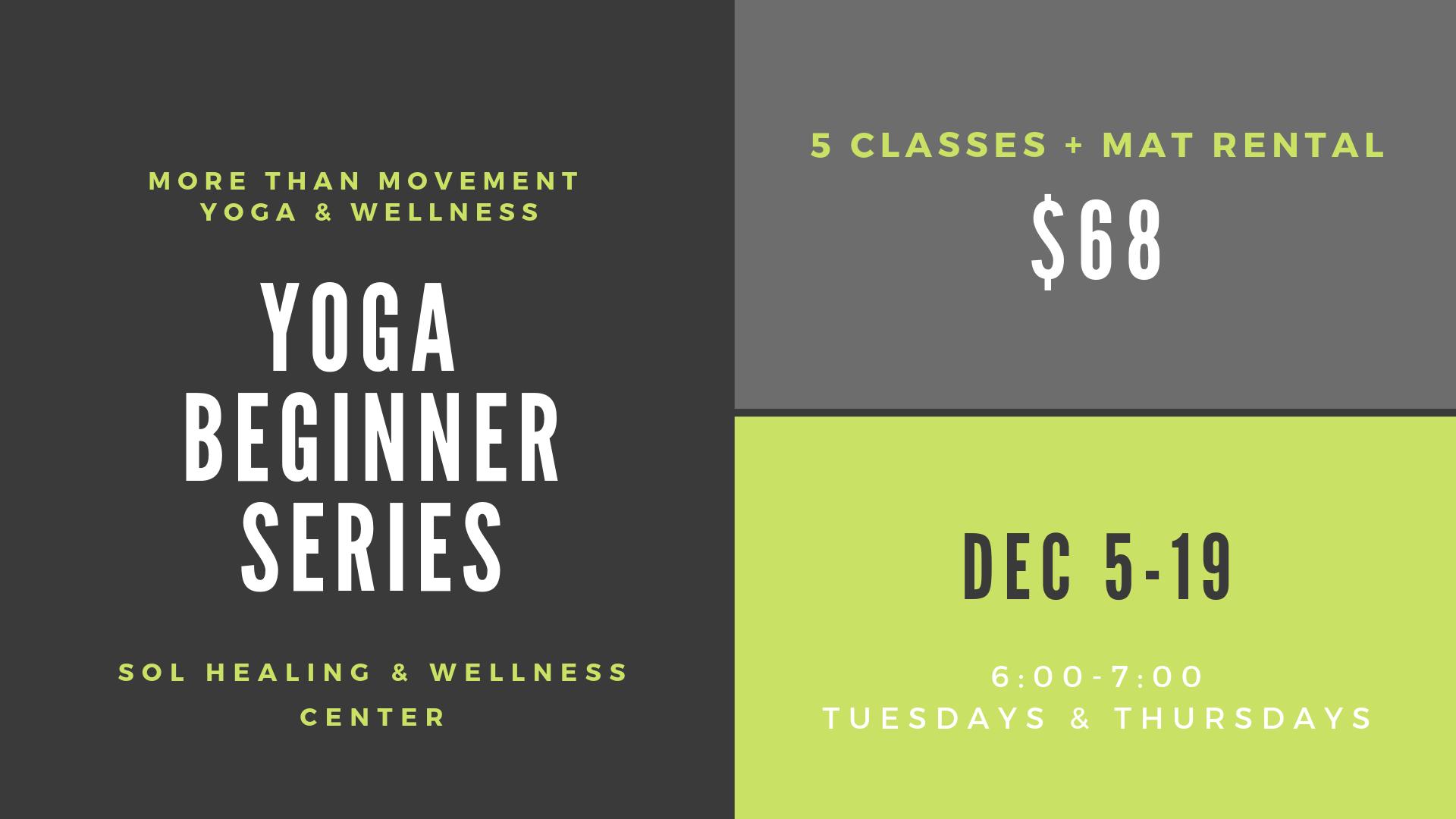 Yoga Beginner Series with Lauren