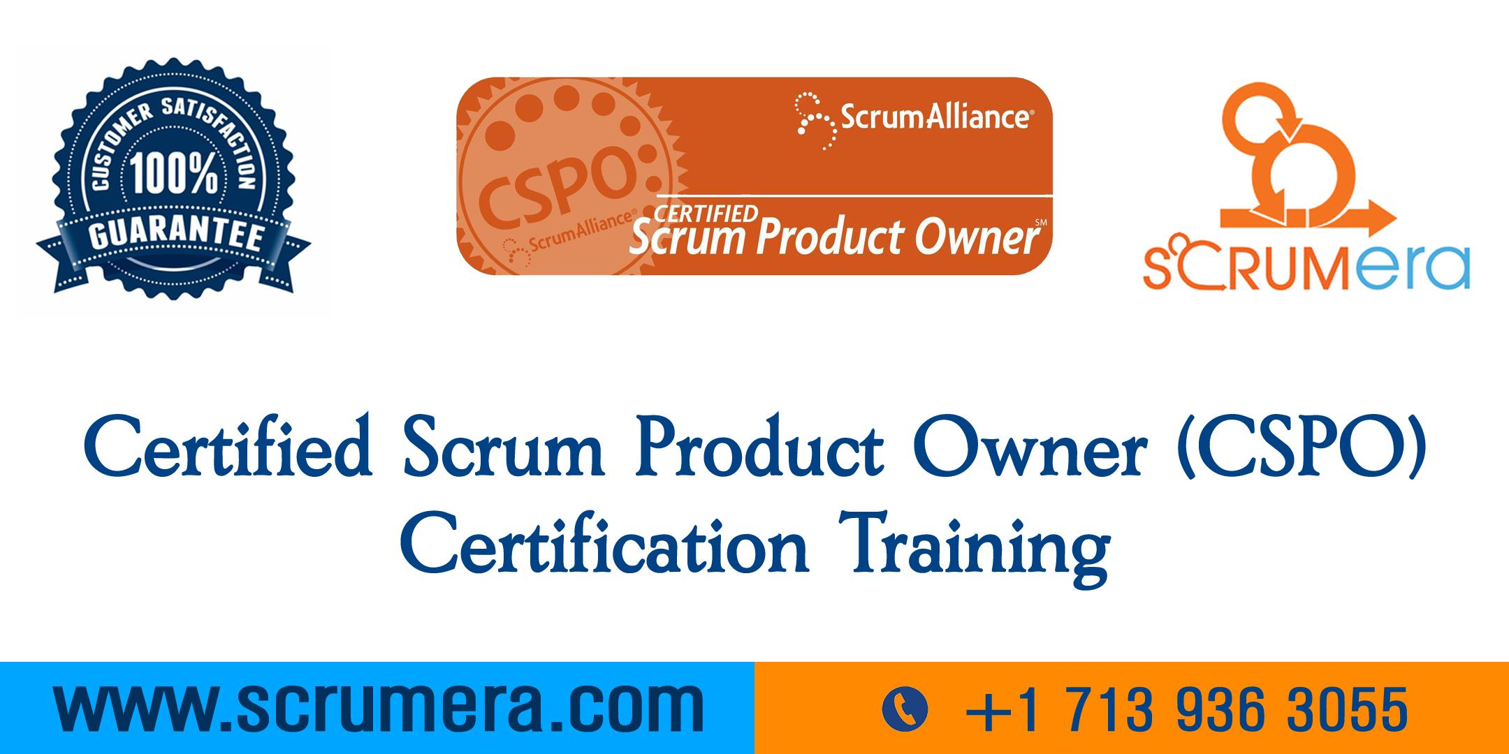 cspo scrum owner certified certification training workshop fresno