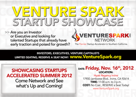 STARTUP SHOWCASE: Venture Spark Network