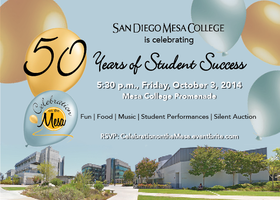 "San Diego Mesa College ""Celebration on the Mesa -- 50..."