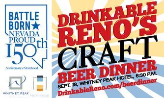 Drinkable Reno's Craft Beer Dinner