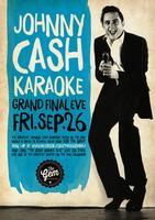 Johnny Cash Karaoke time at The Gem Bar in Melbourne pu...