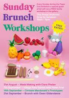 PAPER CUT: SUNDAY BRUNCH WORKSHOP with chrissie...