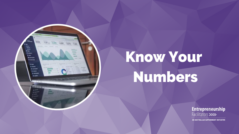 WEBINAR - Know Your Numbers