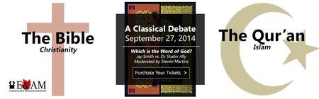 A Classical Debate: Jay Smith vs. Dr. Shabir Ally