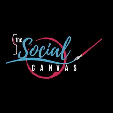 The Social Canvas - Paint Party Events logo