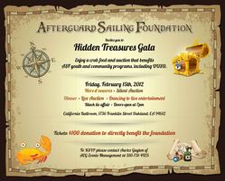 Afterguard Sailing Academy Fundraising Gala