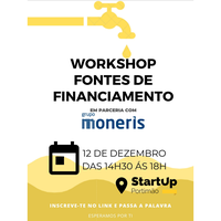 Workshop Fontes de Financiamento