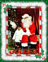 2nd Annual Free Picture With Santa 2012 4x6 Portrait